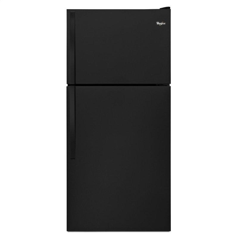 30-Inch Wide Top Freezer Refrigerator - 18 cu. ft. Black