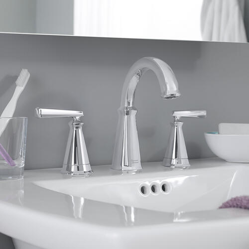 "American Standard - Edgemere Pedestal Sink  8"" Widespead Faucet Holes  American Standard - White"