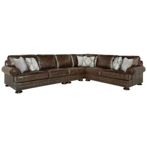 Gallery - Foster Sectional in Molasses (780)