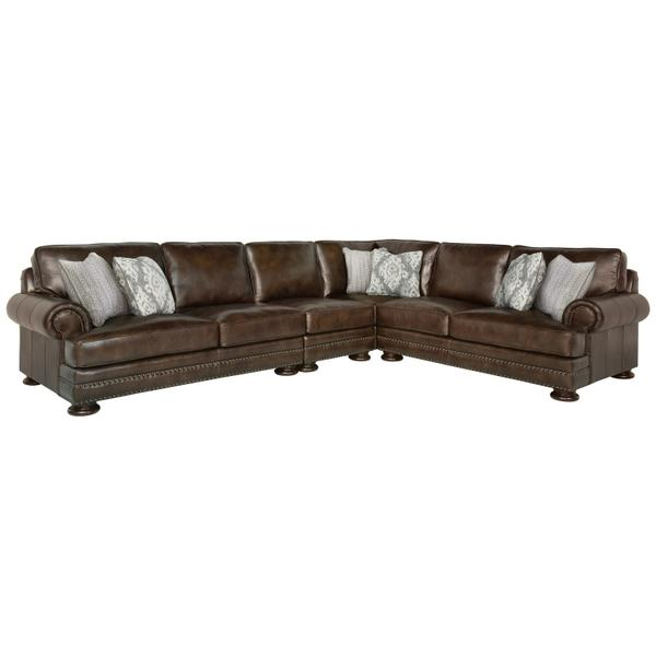 See Details - Foster Sectional in Molasses (780)