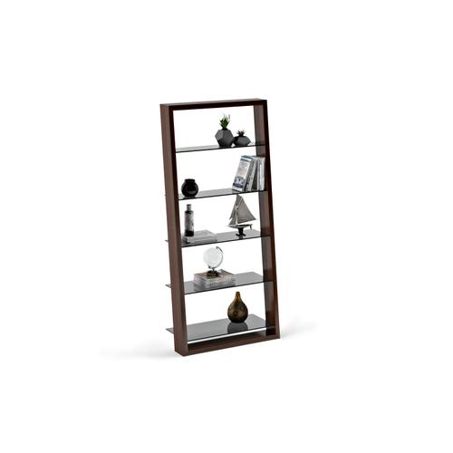 BDI Furniture - Eileen 5156 Leaning Shelf in Chocolate Stained Walnut