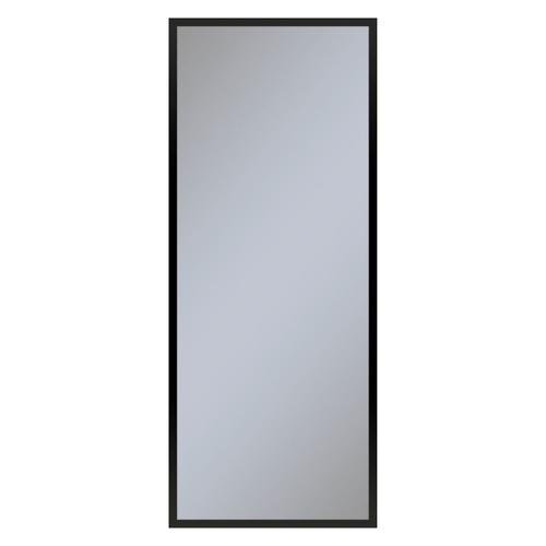 """Profiles 19-1/4"""" X 48"""" X 4"""" Framed Cabinet In Matte Black and Non-electric With Reversible Hinge (non-handed)"""