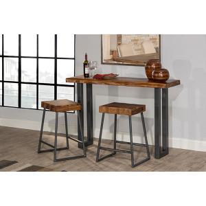 Hillsdale Furniture - Emerson Sofa Table and (2) Non-swivel Counter Stools