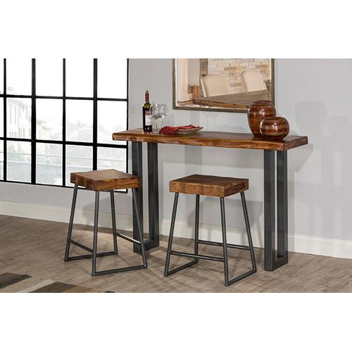 Product Image - Emerson Sofa Table and (2) Non-swivel Counter Stools