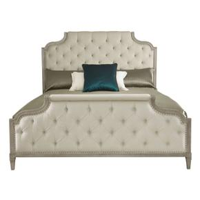 California King Marquesa Upholstered Bed in Gray Cashmere (359)
