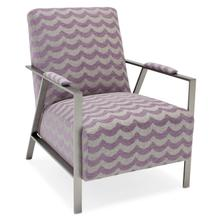Sam Moore Living Room Nora Brushed Metal Chair