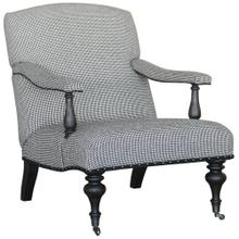 Winslow Club Chair Houndstooth