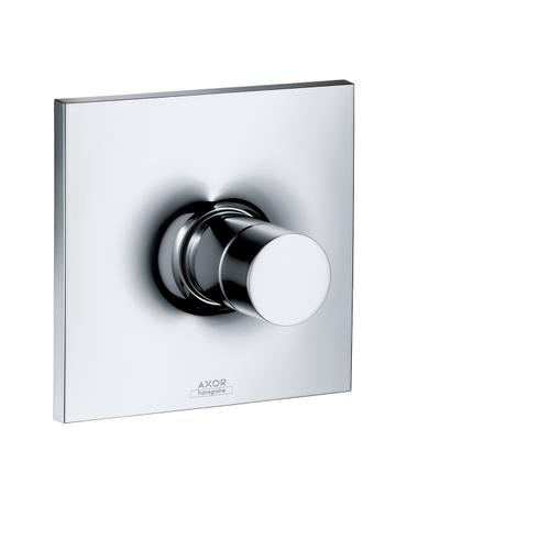 Brushed Nickel Single lever shower mixer for concealed installation