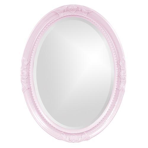 Howard Elliott - Queen Ann Mirror - Glossy Lilac