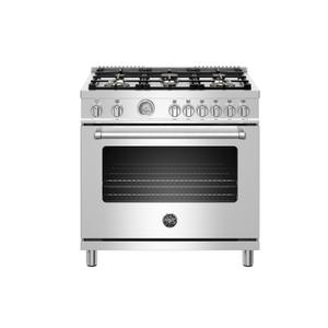 """36"""" Master Series range - Gas oven - 6 brass burners - LP version Product Image"""