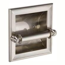 Satin Nickel Recessed Toilet Tissue Holder