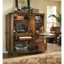 See Details - Brookhaven Computer Cabinet