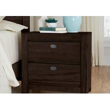 NIGHT STAND - 2 DRAWER