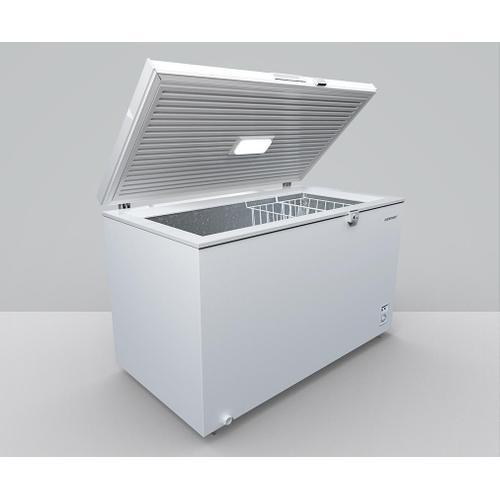 Element - Element 14 cu. ft. Chest Freezer, White