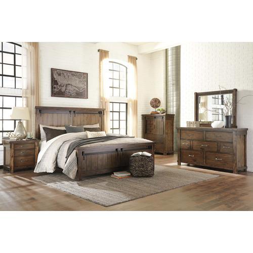 Lakeleigh Bedroom Mirror Brown