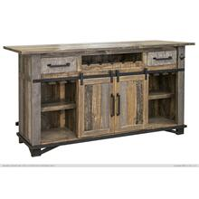 See Details - 2 Drawers & 2 Doors, Bar