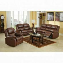 ACME Fullerton Sofa (Motion) - 50010 - Brown Bonded Leather Match