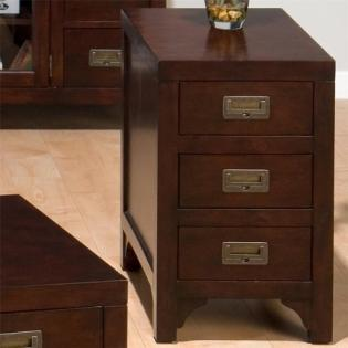 Chairside Table W/ Drawer (assembled)