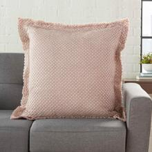 "Life Styles Bx056 Rose 22"" X 22"" Throw Pillow"