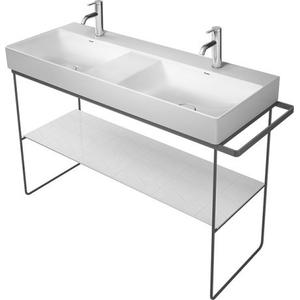 Durasquare Metal Console Floorstanding Chrome