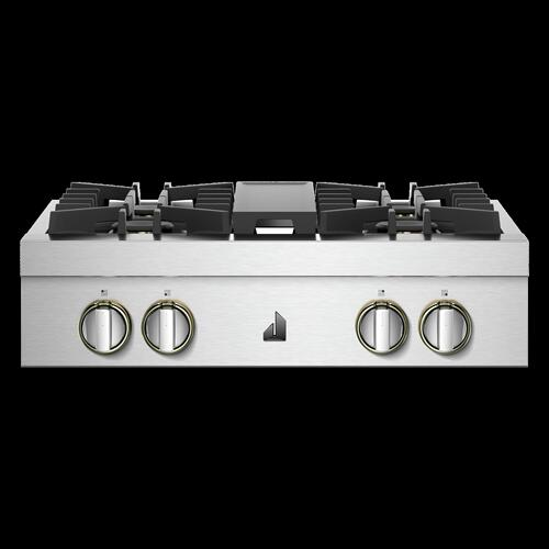 "30"" RISE™ Gas Professional-Style Rangetop"