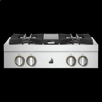 """30"""" RISE™ Gas Professional-Style Rangetop"""