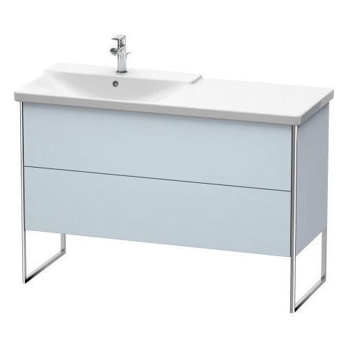 Product Image - Vanity Unit Floorstanding, Light Blue Satin Matte (lacquer)