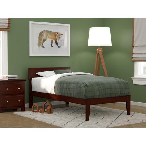 Boston Twin Bed in Walnut