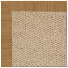 "Creative Concepts-Cane Wicker Dupione Caramel - Rectangle - 24"" x 36"""