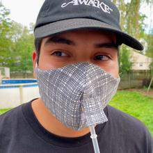 Product Image - Happy Hour Reusable Face Mask in Otto Charcoal