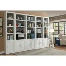 See Details - CATALINA 6 Piece Small Library Wall with Ladder