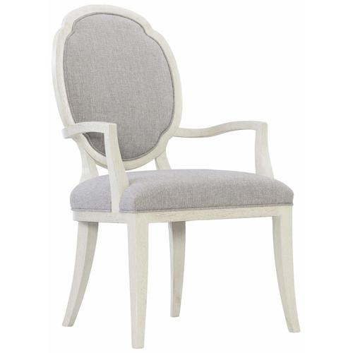 Allure Arm Chair in Manor White (399)