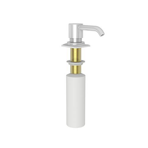 Newport Brass - White Soap/Lotion Dispenser