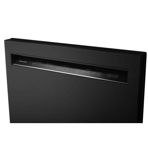 KitchenAid - 46 DBA Dishwasher with ProWash™, Front Control Black