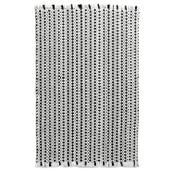Novato Black White Multi - Rectangle - 2' x 3'
