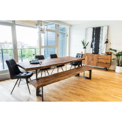 Moe's Home Collection - Bent Dining Table Small Smoked
