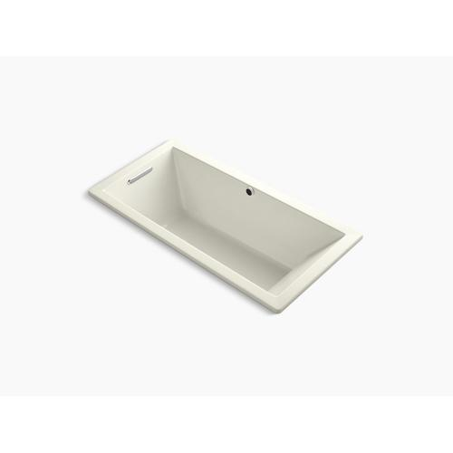 """Biscuit 66"""" X 32"""" Drop-in Bath With Bask Heated Surface and End Drain"""