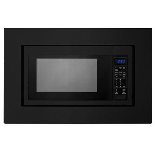 KitchenAid - 27 in. Trim Kit for Countertop Microwaves - Black