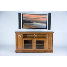 """See Details - A-T238 Traditional Alder 56"""" TV Console"""