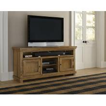 "64"" Console - Distressed Pine Finish"
