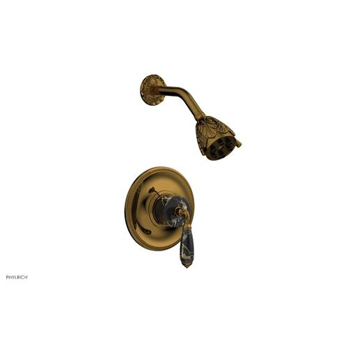 VALENCIA Pressure Balance Shower Set PB3338C - French Brass