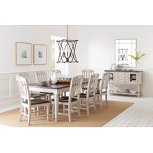 Orchard Park Table & 6 Chairs 2 Tone Grey