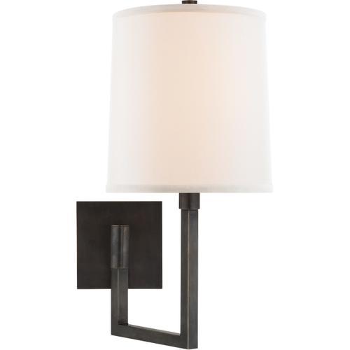 Barbara Barry Aspect 11 inch 75 watt Bronze Swing-Arm Wall Light