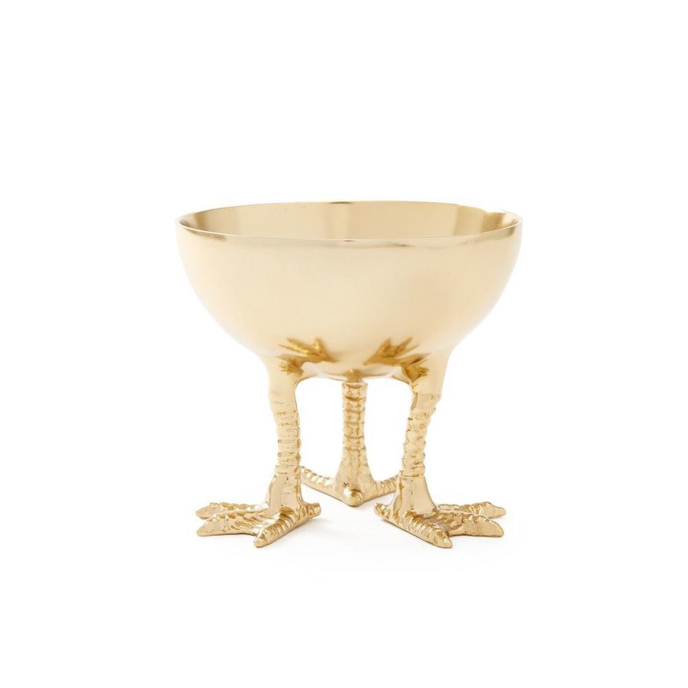 See Details - Daphne Bowl, Brass Finish