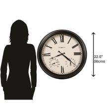 Howard Miller Aspen Outdoor Oversized Wall Clock 625677