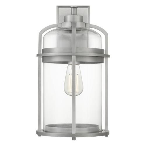 Quoizel - Carrington Outdoor Lantern in Industrial Aluminum
