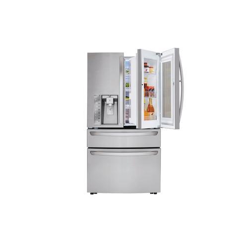"""36"""" French Door Refrigerator With Instaview Door-in-door®, 30 CU.FT."""