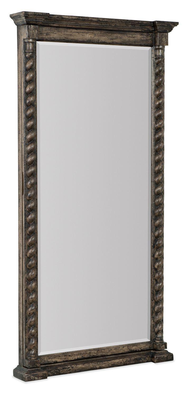 Hooker FurnitureAccents La Grange Vail Floor Mirror W/jewelry Storage