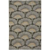 Isobel Gunsmith Grey - Rectangle - 5' x 8'