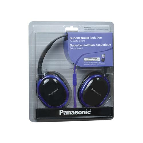 Over-the-Ear Headphones RP-HX250M-V - Purple